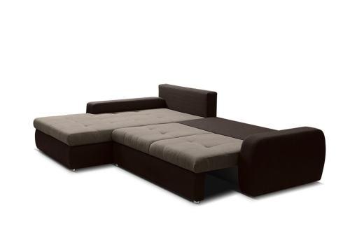 Cama abierta. Sofá chaise longue cama reversible - Quebec