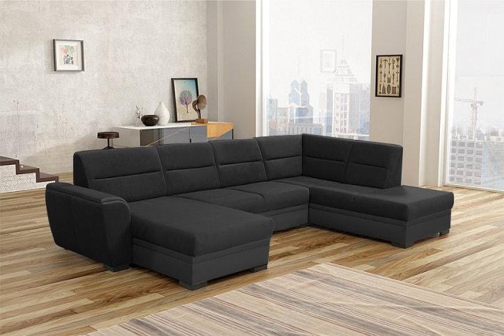 Sofá cama grande en forma de U - Montreal - Don Baraton ...