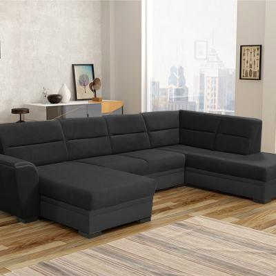 Sofá cama grande en forma de U - Montreal