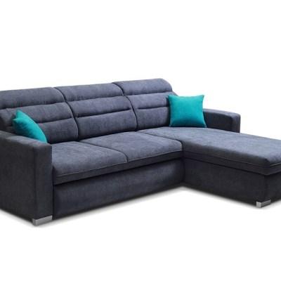 Sofá chaise longue cama con reposacabezas reclinables. Chaise longue derecha - Victoria