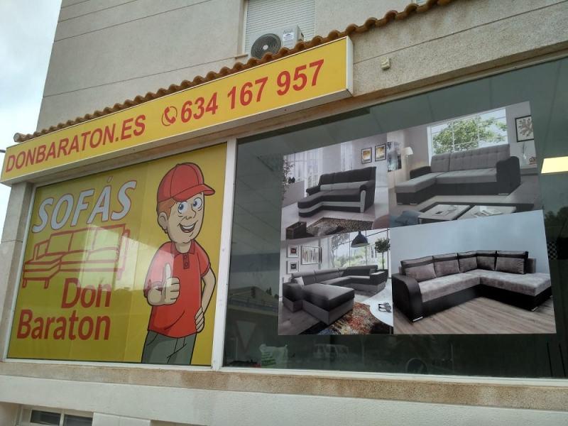 Tienda de sofás en Altea - Don Baraton