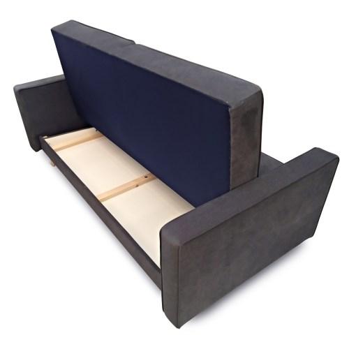 Arcón debajo del asiento. Sofá cama nórdico 3 plazas - Uppsala