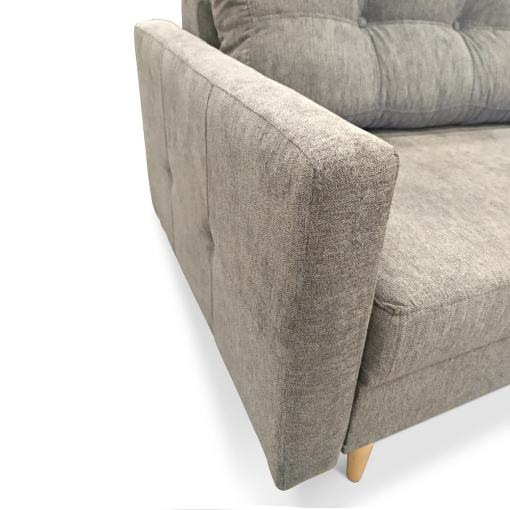 Narrow Armrests. Scandinavian Design Sofa Halmstad