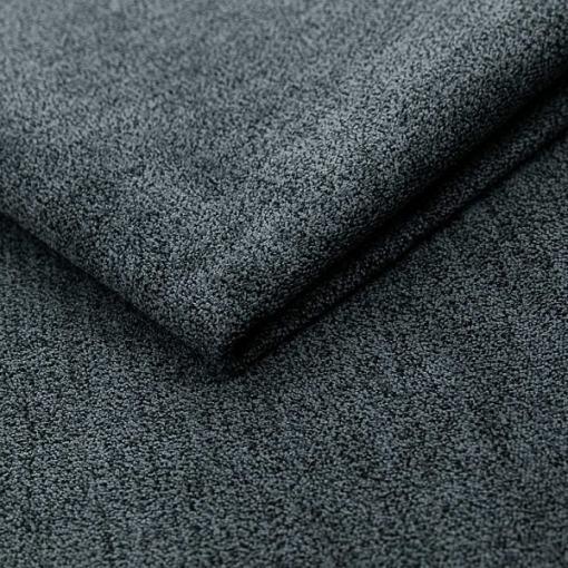 """Мягкая, """"плюшевая"""" ткань тёмно-серого цвета. Диван-кровать в скандинавском стиле - Halmstad"""