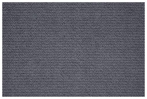 Tela microfibra de color gris oscuro del sofá Uppsala