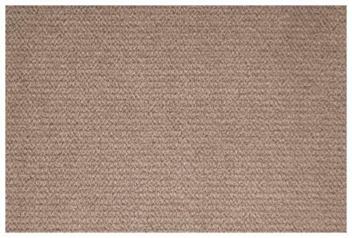 Tela microfibra de color mocca (marrón claro) del sofá Uppsala