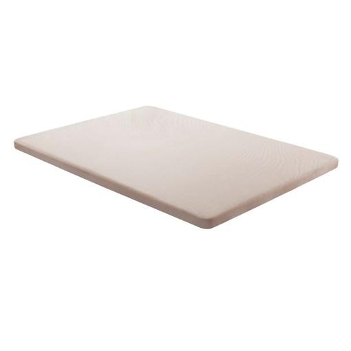 Base tapizada 135 x 190 cm, color beige, sin patas - Bazio