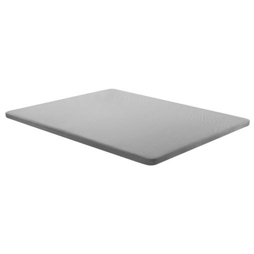 Base tapizada 150 x 190 cm, color gris, sin patas - Bazio