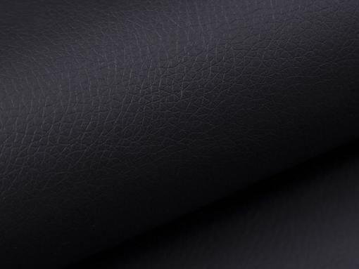 Piel sintética color negro. Sofá rinconera cama con arcón modelo Fiji