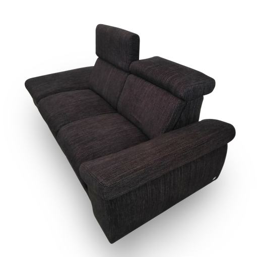 Reclining Headrests. 2 Seater Electric Recliner Sofa - Hugo