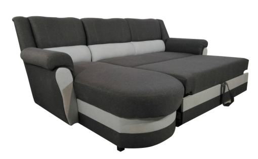 Inexpensive Chaise Longue Sofa Bed with High Backrest - Parma