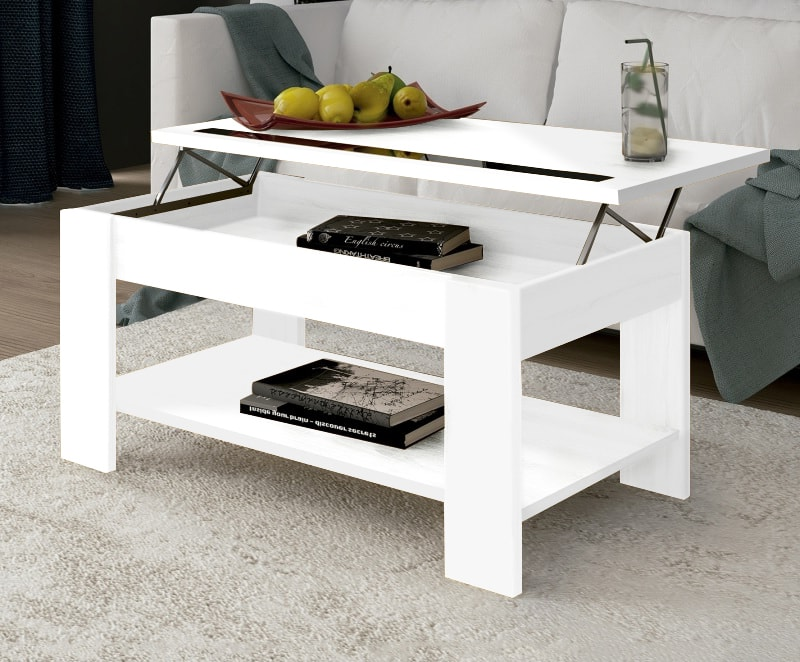 White Lift Up Coffee Table.Lift Up Coffee Table With Shelf Underneath Ayora Don Baraton