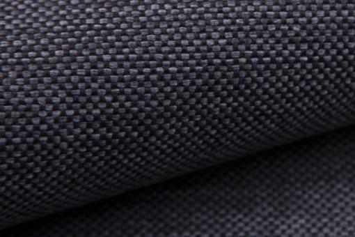 Tela sintética de color gris oscuro. Muna 12. Sofá modelo Padua