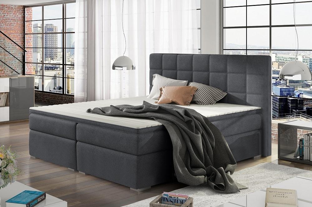 Bedombouw 180 200.Super King Size Storage Bed Upholstered 180 X 200 Cm Isabella
