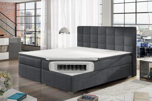 Colchón con muelles tipo bonell de cama matrimonio 180 x 200 cm modelo Isabella