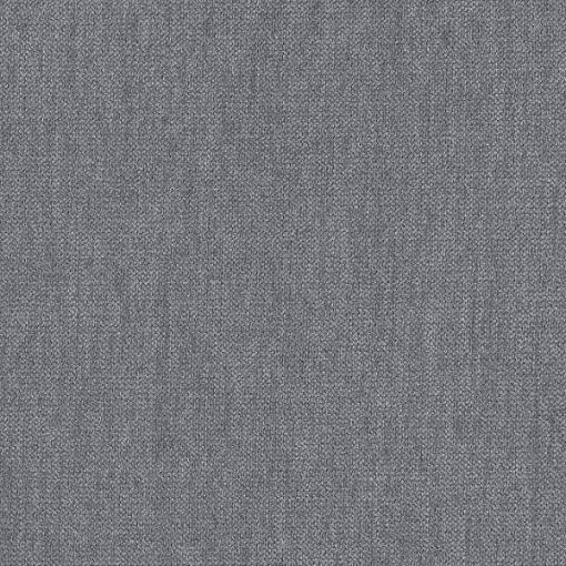 Light grey fabric of the single storage bed 90 x 200 - Amelia