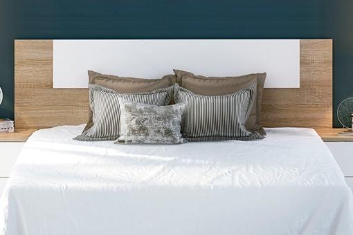 Cabecero económico para camas doble de hasta 160 cm - Rimini