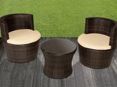 Muebles de jardín: Mesas, sillas, sofás de rattán y madera - Don Baraton
