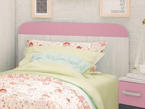 Cabecero juvenil color Rosa - Luddo