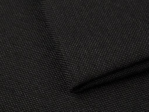 Black durable synthetic fabric of the Maldives sofa
