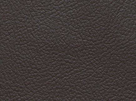 Piel auténtica color negro del sofá rinconera modelo Vienna