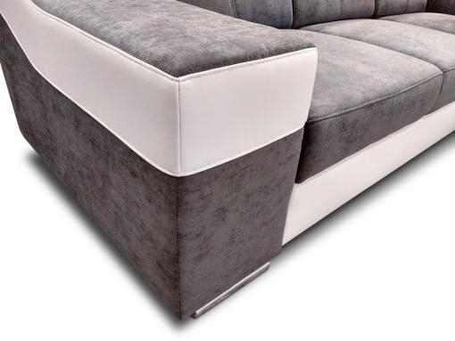 Reposabrazo cerca del sofá siente plazas en forma de U con cama extraíble y modelo Cannes