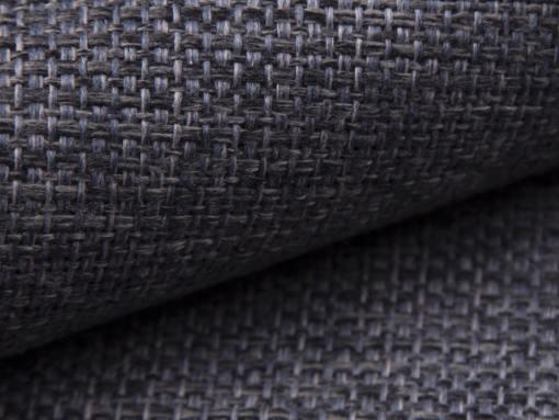 Tela gris oscuro del sofá modelo Reims