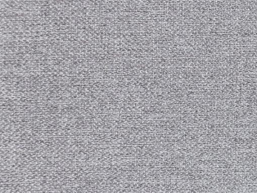 Tela color gris claro. Sofá cama con patas de madera y arcón - Monaco