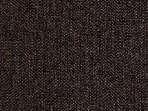 Tela color marrón oscuro. Sofá cama con patas de madera y arcón - Monaco