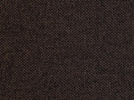Dark brown fabric of the Monaco sofa bed