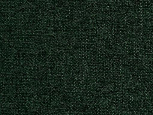 Tela color verde oscuro. Sofá cama con patas de madera y arcón - Monaco