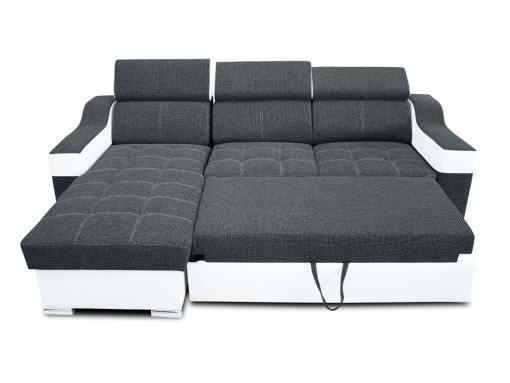 Кровать разложена. Угловой диван модель Albi Plus