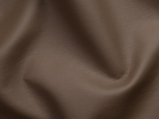 Piel sintética, color marrón del sofá chaise longue modelo Richmond