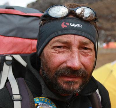 Шахтер, проходчик шахты Белозерская (Доброполье) Виталий Кутний.