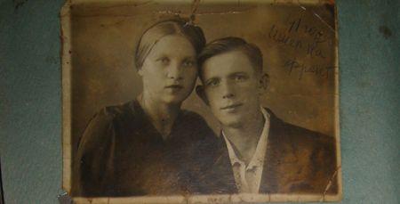 С мужем Иваном она прожила без малого полвека -  до самой его смерти.