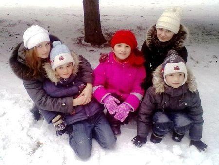 Вот они, все пятеро деток.