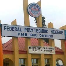 Federal Polytechnic Nekede HND Courses