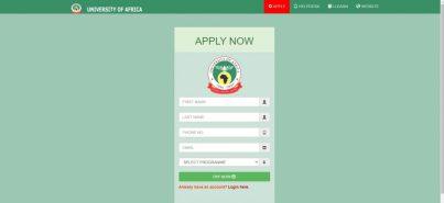 university of Africa Post UTME
