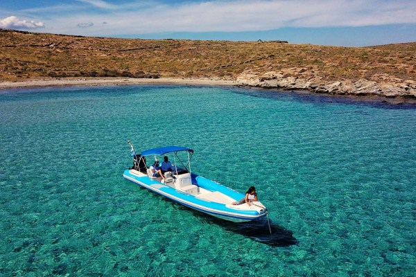 Mykonos Private RIB Boat for rent - Don Blue Yachting - Pelias Marvel