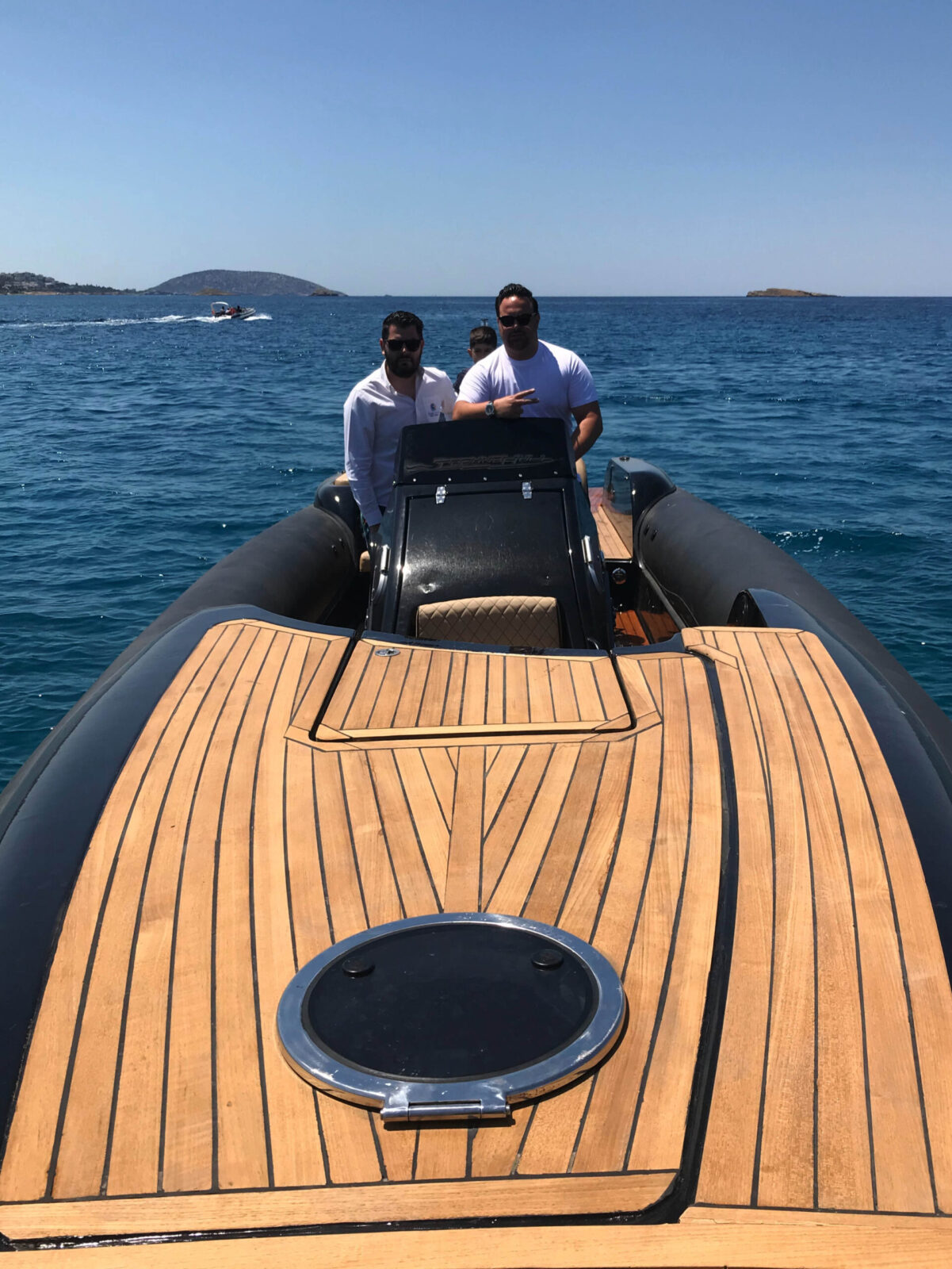 Mykonos Paros Athens Private Boat for rent - Don Blue Yachting - Technohull Sea DNA 999