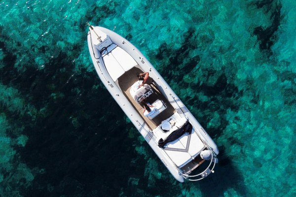 Mykonos Private RIB Boat for rent - EFMOPLOS Cobra 8.50 Nautique - Don Blue