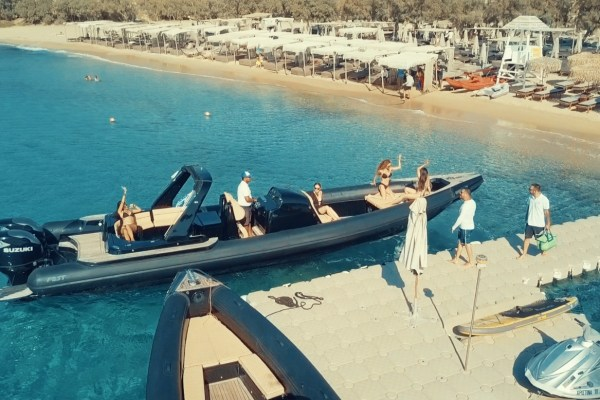 Mykonos Tender Services - Don Blue Private RIB Boat Rentals