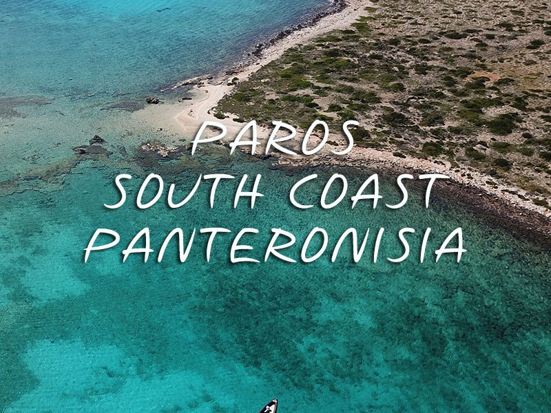 Private Day Cruise to Paros South Coast - Panteronisi