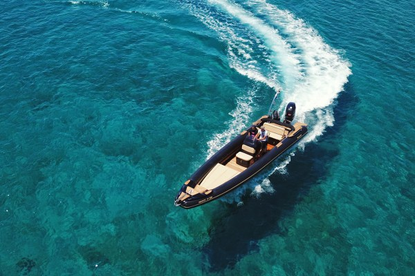 Proteas Private RIB Boat rental in Mykonos, Paros & Athens by Don Blue