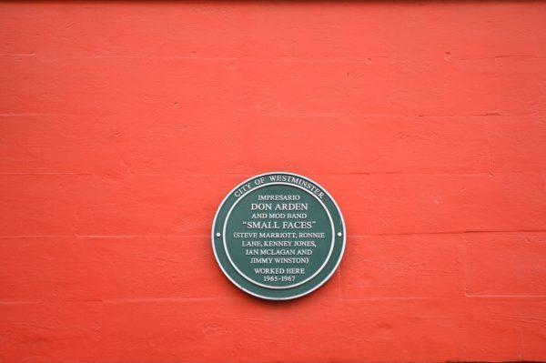The Small Faces Carnaby Street Soho