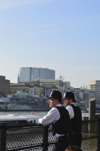 london policemen