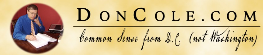 DonCole.Com Header Photo of Don Cole