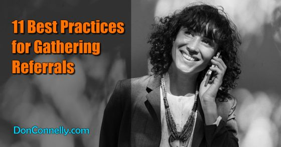 11 Best Practices for Gathering Referrals