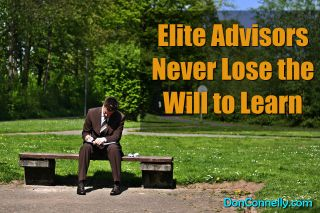 Elite Advisors Never Lose the Will to Learn