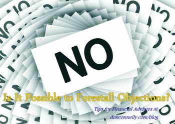 Objection Handling - Is It Possible to Forestall Objections